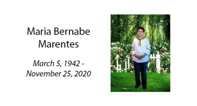 Maria Bernabe Marentes