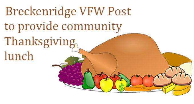 VFW to serve Thanksgiving lunch on Thursday