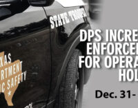 DPS to increase enforcement for the New Year's holiday