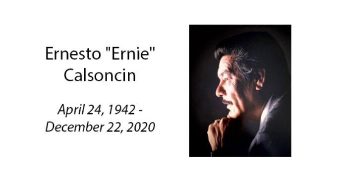Ernesto 'Ernie' Calsoncin