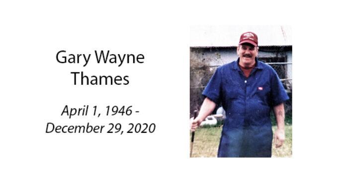 Gary Wayne Thames