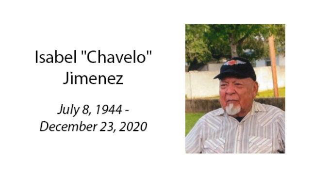 Isabel 'Chavelo' Jimenez