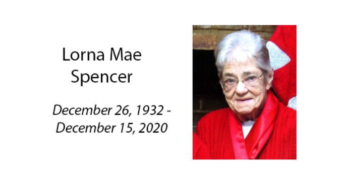 Lorna Mae Spencer
