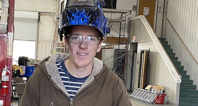 Dual enrollment opportunity leads BHS senior to continue education at TSTC