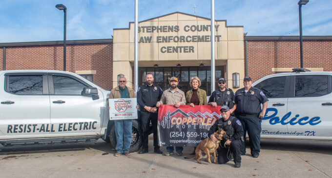 New K-9 officer joins Breckenridge Police Department to help combat drug problems