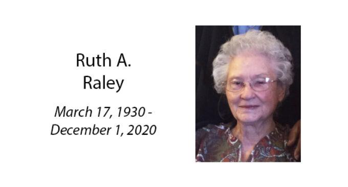 Ruth A. Raley