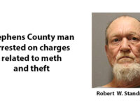 Stephens County man arrested on theft, meth charges