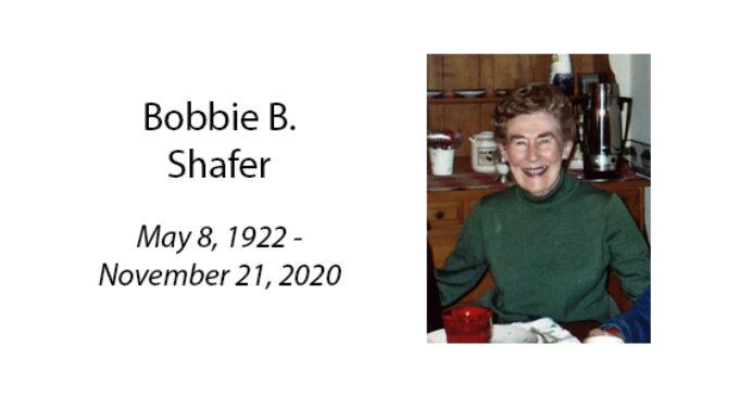 Bobbie B. Shafer