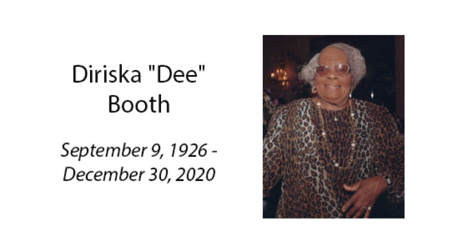 Diriska 'Dee' Booth