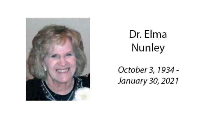 Dr. Elma Nunley