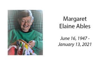 Margaret Elaine Ables