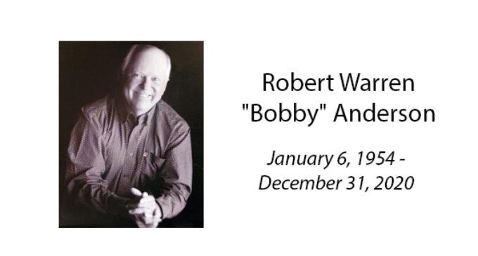 Robert Warren 'Bobby' Anderson
