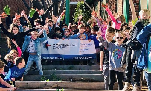 Farm Bureau grants enable AgriLife Extension, South Elementary to create vegetable garden