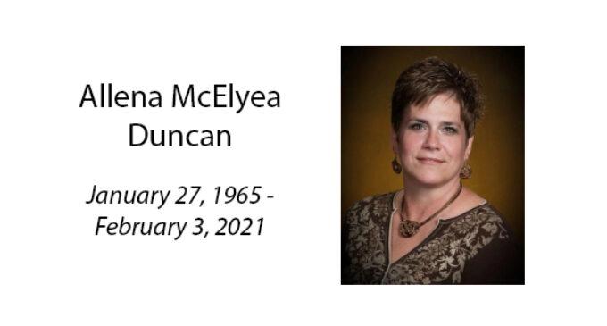 Allena McElyea Duncan