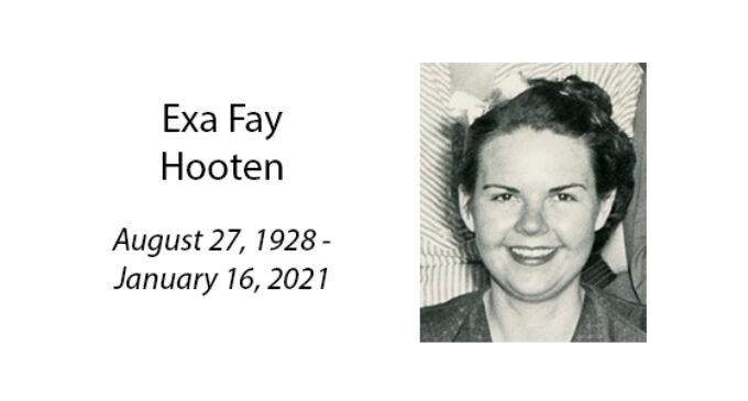 Exa Fay Hooten