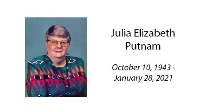 Julia Elizabeth Putnam