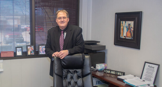New hospital CEO Brian Roland wants to get to know the community and its healthcare needs