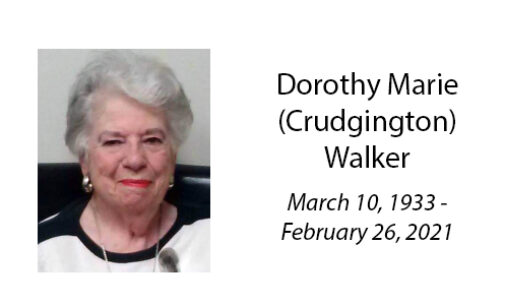 Dorothy Marie (Crudgington) Walker