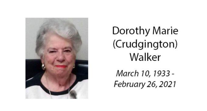 Dorothy Marie (Crudgington) Walker