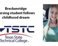 TSTC Nursing student follows childhood dream