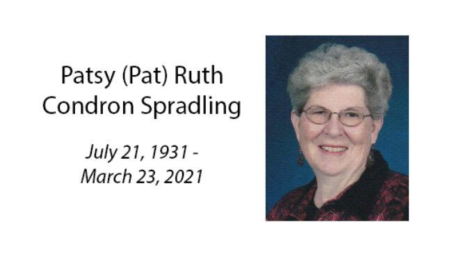 Patsy (Pat) Ruth Condron Spradling