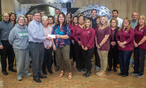 Breckenridge's First National Bank achieves 100 percent participation in United Fund donations