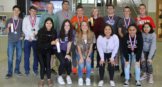 Breckenridge High School students place at district UIL meet