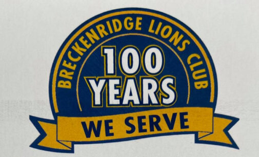 Breckenridge Lions Club to celebrate centennial with reception on Friday