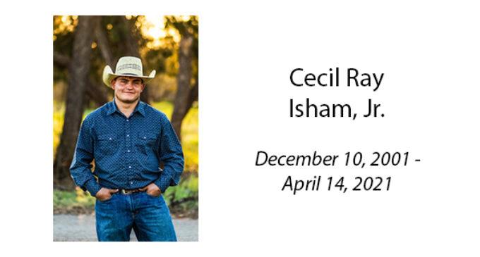 Cecil Ray Isham, Jr.
