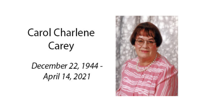 Carol Charlene Carey