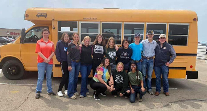 Local FFA teams compete in Area contests; Horse Judging team going to state