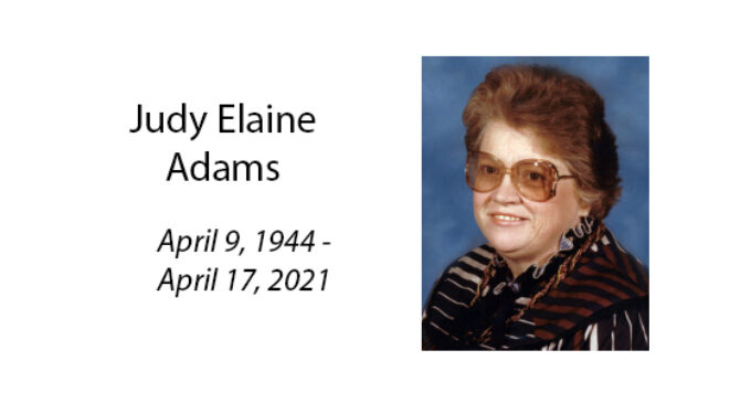 Judy Elaine Adams