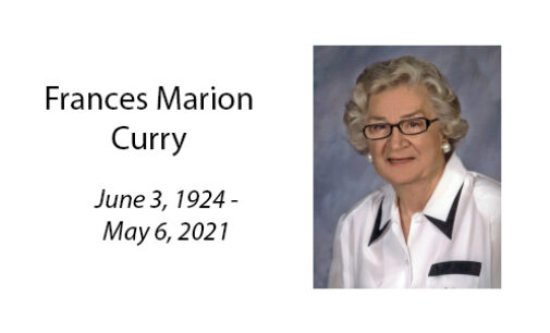 Frances Marion Curry