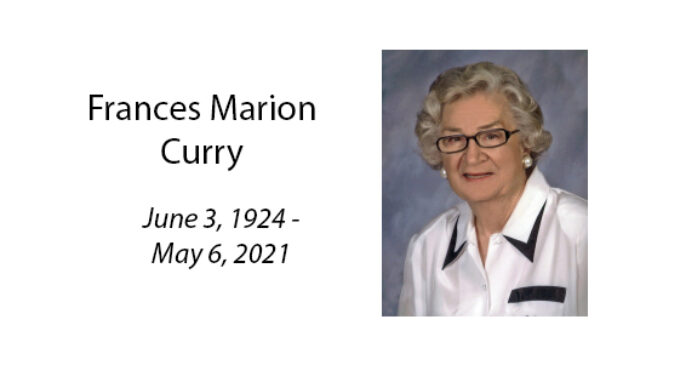 Frances Marion Curry