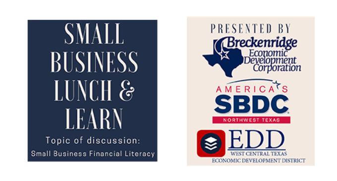 Breckenridge Economic Development Corp. to host Lunch & Learn for small businesses on May 27