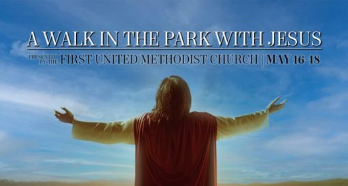First United Methodist Church to host 'A Walk in the Park with Jesus' revival May 16-18