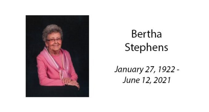Bertha Stephens