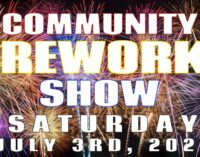 Community fireworks shows planned for July 3 and 4