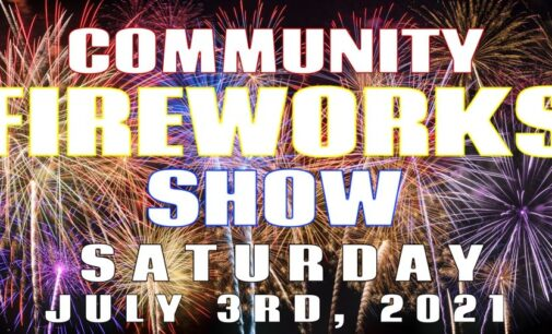 Fireworks shows scheduled for this weekend; officials urge caution for personal fireworks use
