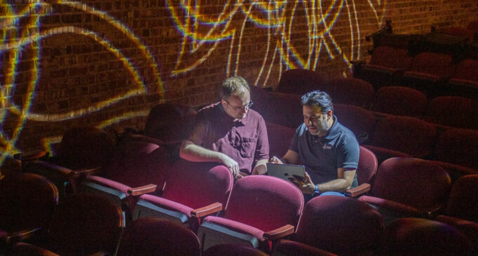 Breckenridge's National Theatre shines brightly with new lighting system