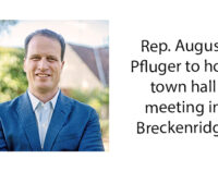 U.S. Rep. Pfluger to hold town hall meeting in Breckenridge on Monday