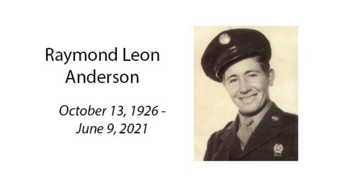 Raymond Leon Anderson