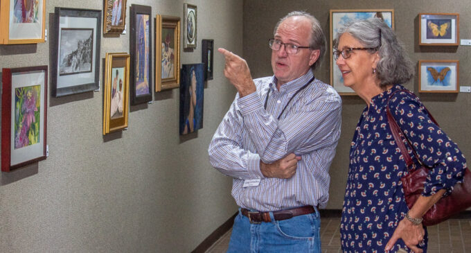 BFAC hosts artists' reception, gears up for Juried Art Show
