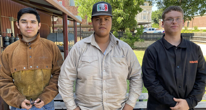 Competition leads students to TSTC-Breckenridge's Welding Technology program