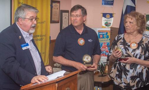Rotary Club of Breckenridge honors long-time members