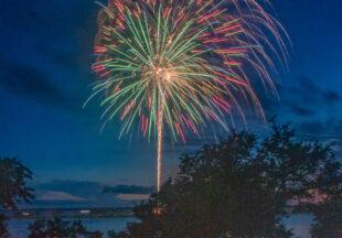 Fourth of July 2021 at Hubbard Creek Lake