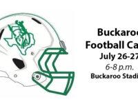 Buckaroo Football Camp scheduled for July 26-27
