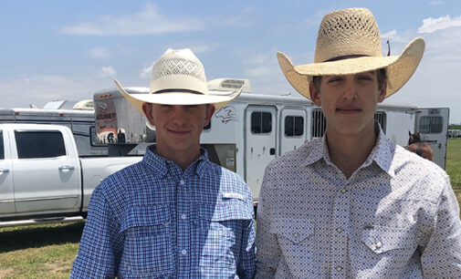 Breckenridge FFA students place at state team roping contest; five BHS students/grads receive Lone Star Degree