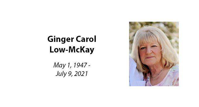 Ginger Carol Low-McKay