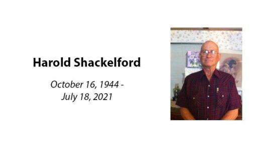 Harold Shackelford